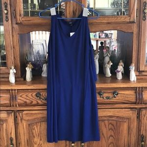 MSK dress with bling and bell sleeves NWT!
